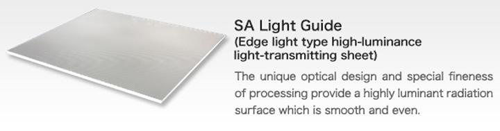 sa light guide sumika acryl co ltd rh sumika acryl co jp Fashlight Guide light guide design principles